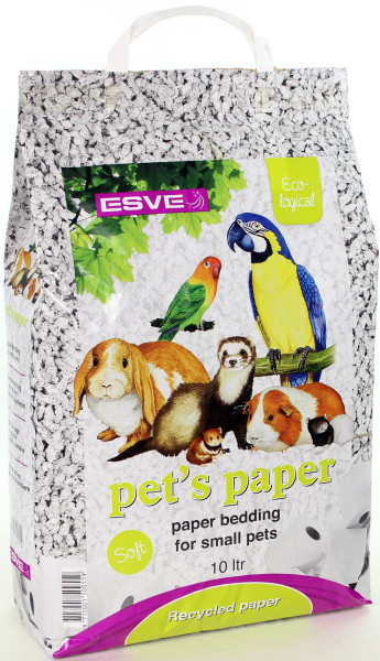 ESVE Pet's Paper bedding 10 ltr