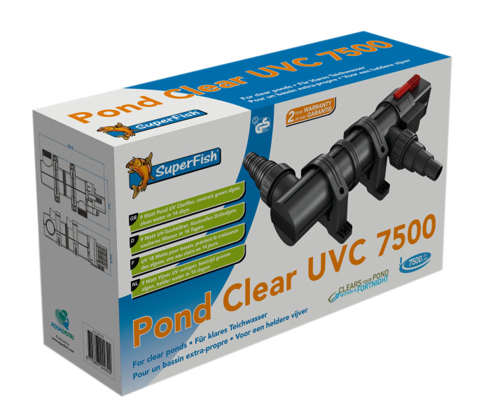 SuperFish Pond Clear UVC 7500