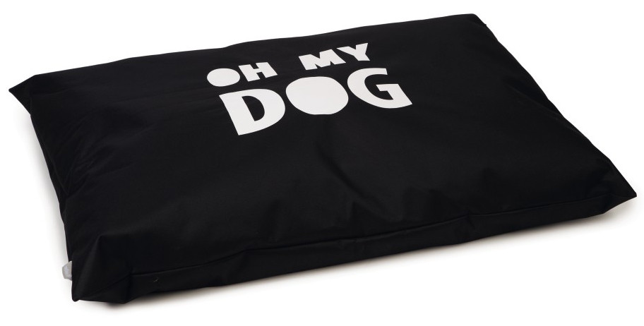 Beeztees loungekussen Oh My Dog zwart