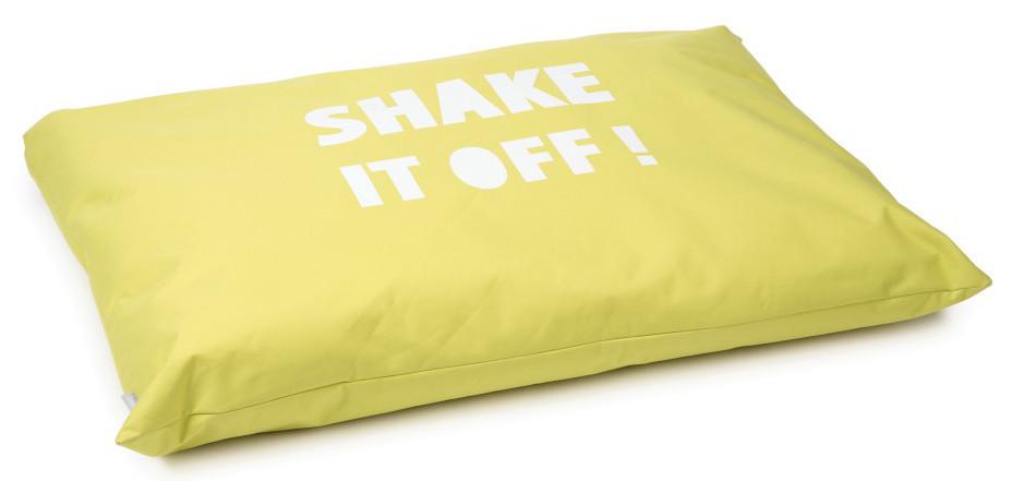 Beeztees loungekussen Shake It geel