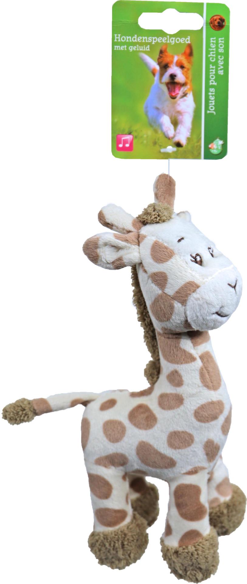 Giraffe met piep 20 cm