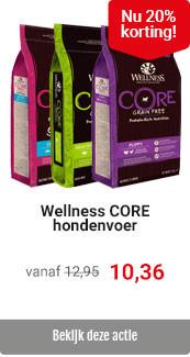 Wellness Core hondenvoer 20% korting