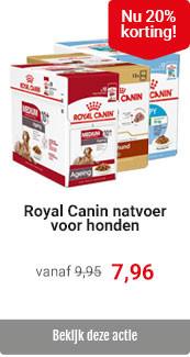 Royal Canin hondenvoer nat 20% korting