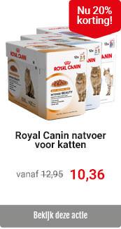 Royal Canin kattenvoer nat 20% korting