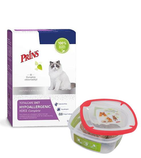 Prins kattenvoer TotalCare Diet Hypoallergenic 500 gr