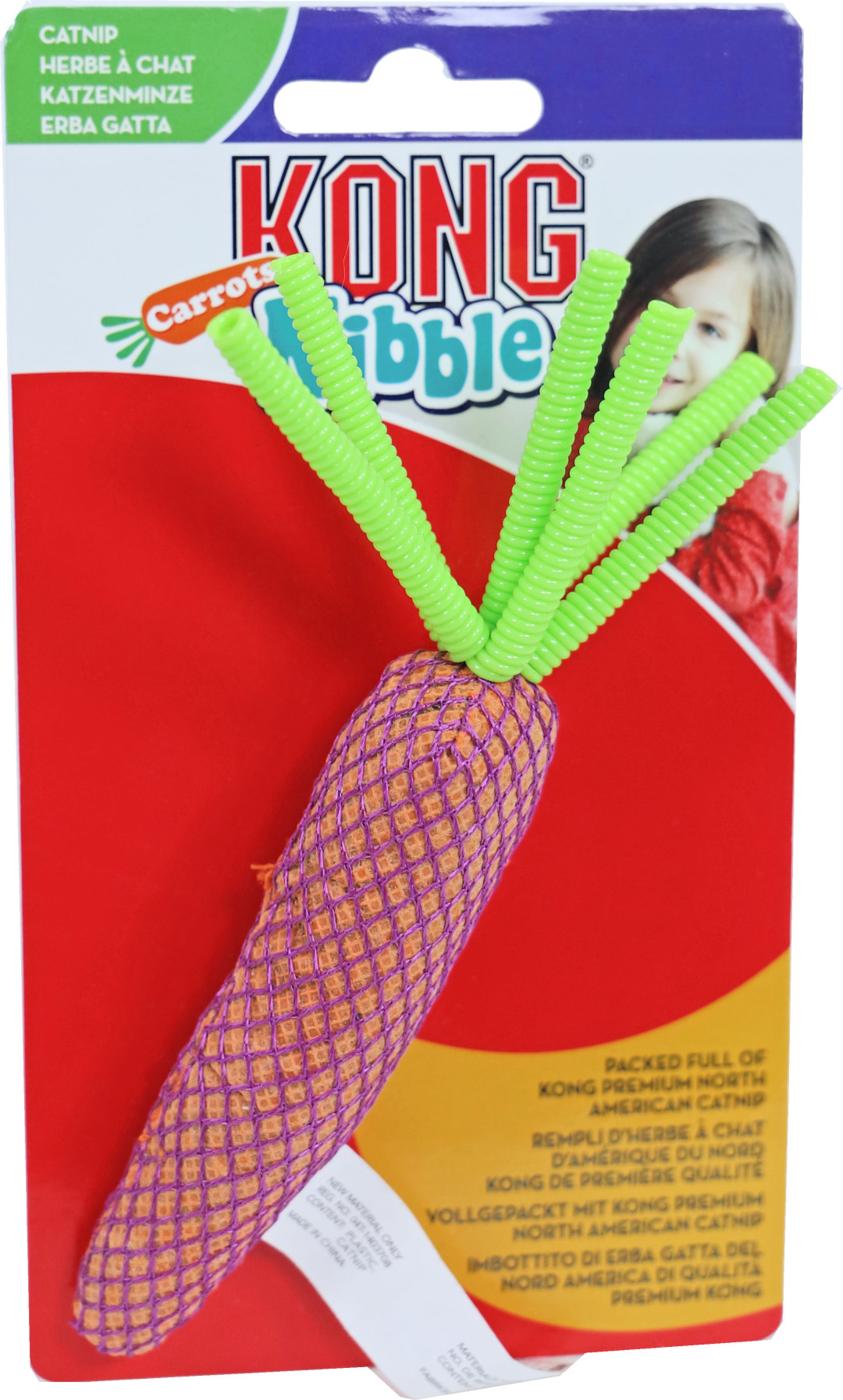 Kong Nibble Carrots assorti