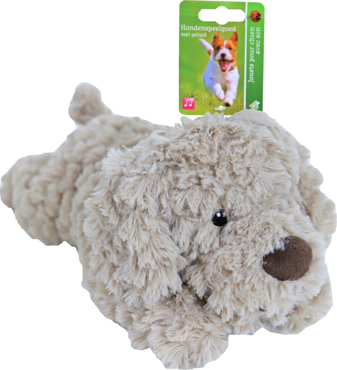 Hond met piep 34 cm