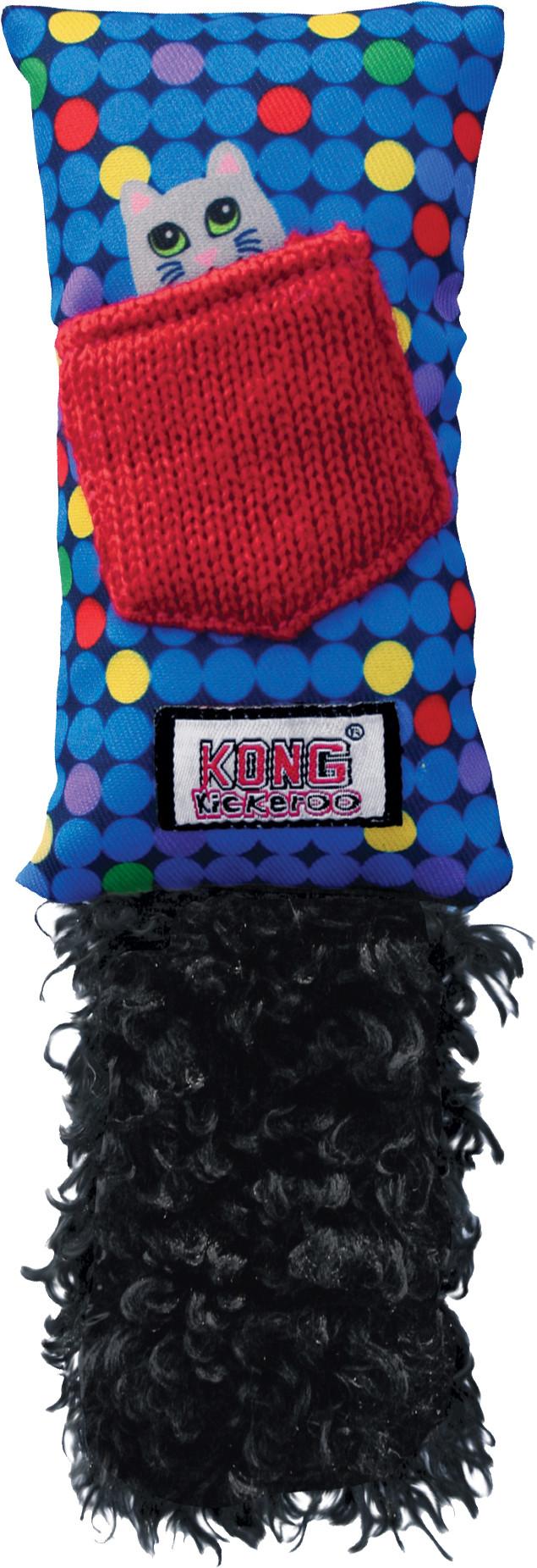 Kong Kickeroo met catnip assorti