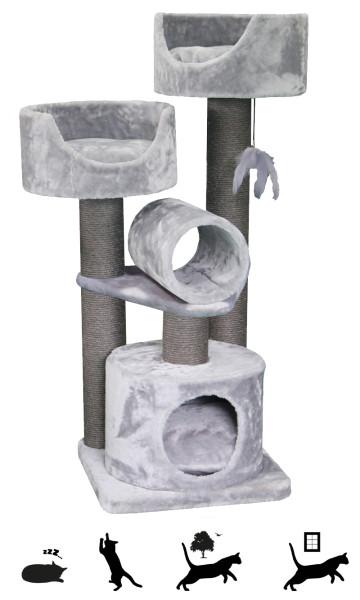 Petrebels krabmeubel Sweet Petite Cabin 125 fuzzy grey
