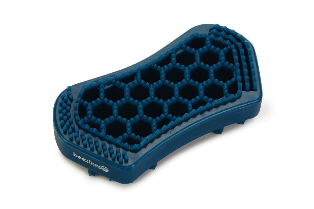 Beeztees verzorgingsborstel Xena blauw