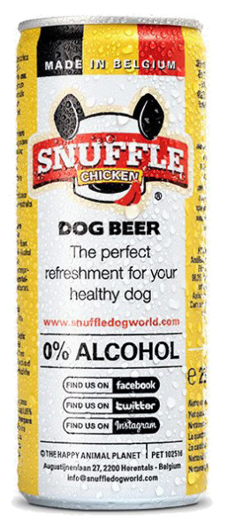 Snuffle Dog Beer chicken 250 ml