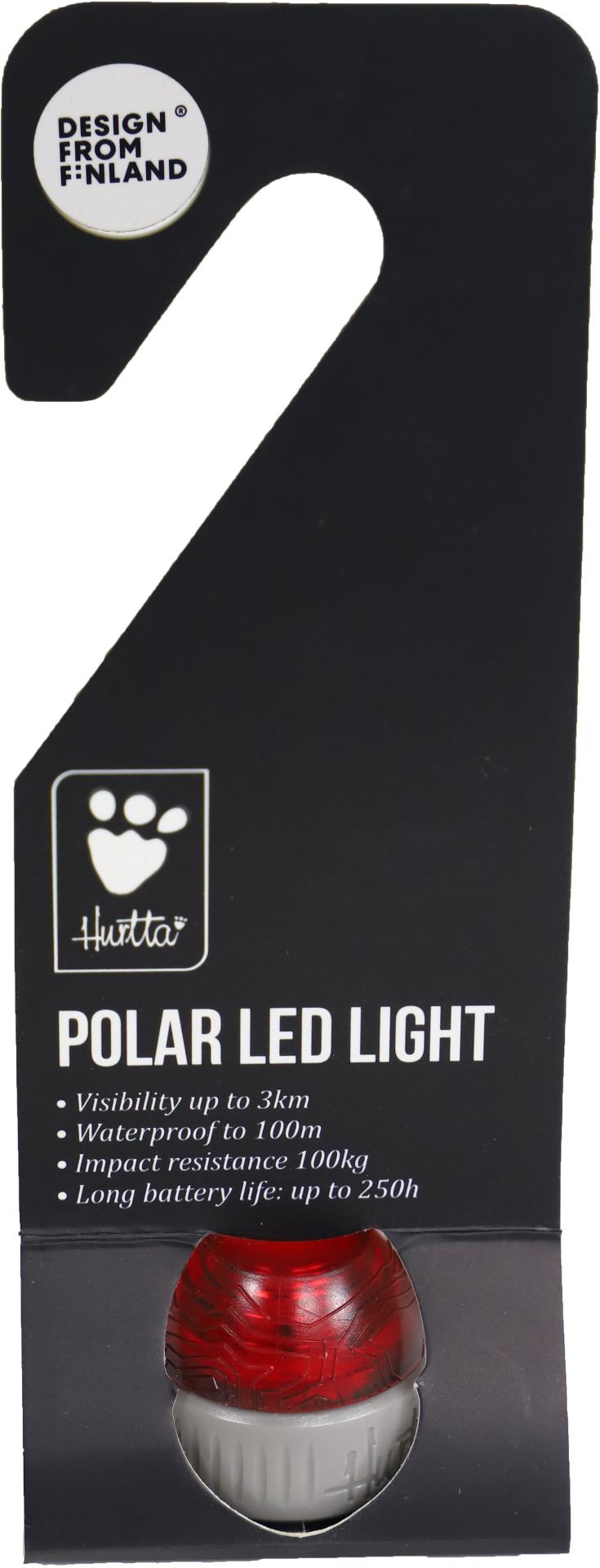 Hurtta Adventure Polar LED lamp red