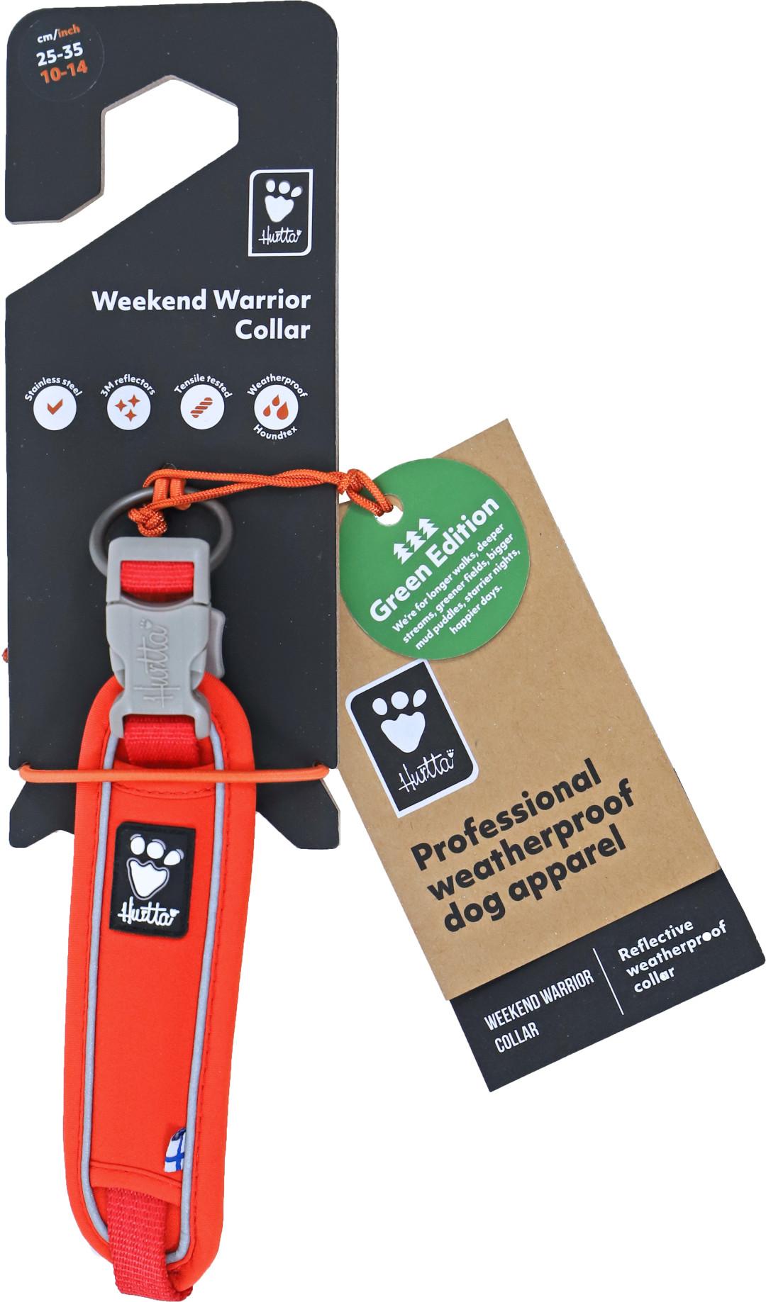 Hurtta halsband Weekend Warrior eco rosehip