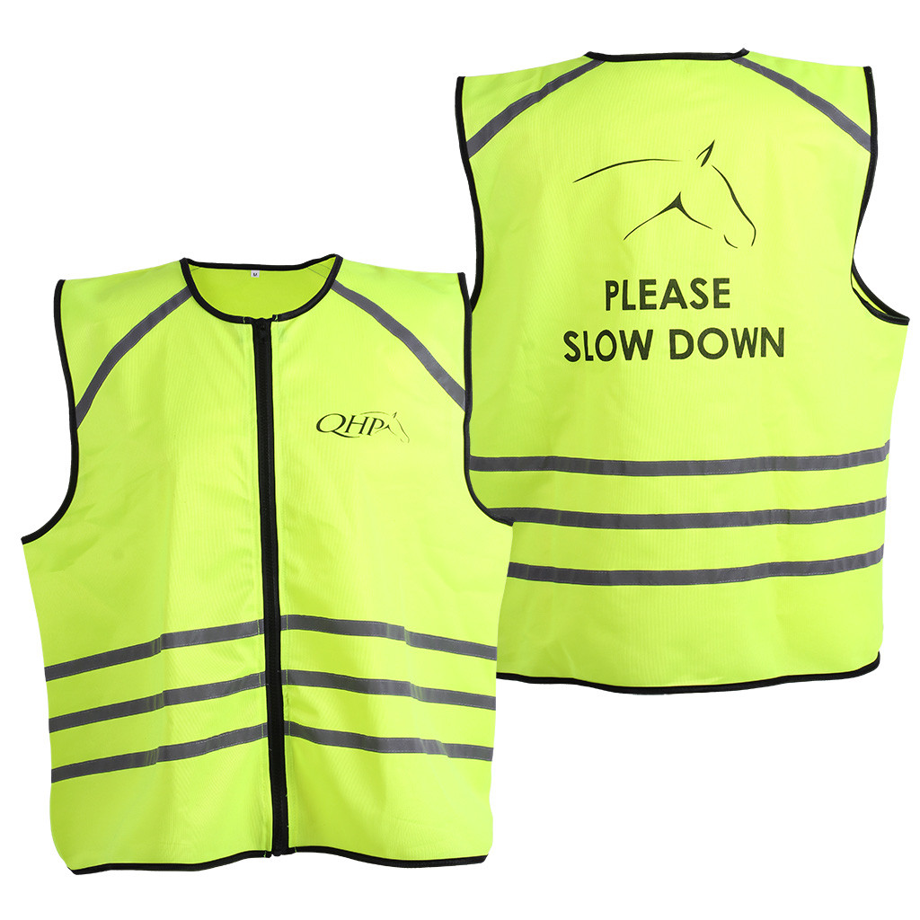 QHP reflectie vest geel