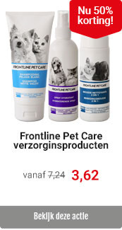 Frontline Pet Care 50% korting