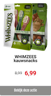 Whimzees valuebags voor 6.99