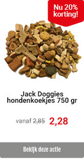 Jack Doggies 750 gr 20% korting