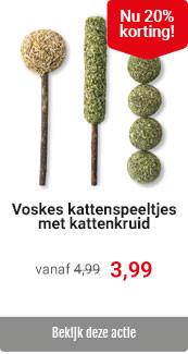 Voskes catnip 20% korting