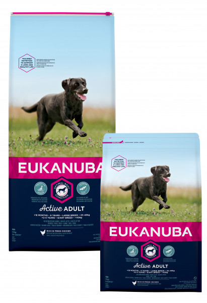 Eukanuba hondenvoer Active Adult Large Breed 12 kg