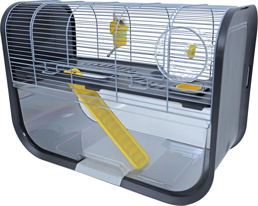 Savic hamsterkooi Geneva antraciet