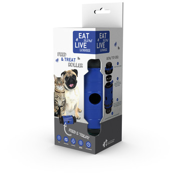 Eat Slow Live Longer Feed and Treat blauw