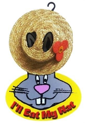 Snugglesafe I'll Eat My Hat strohoed konijn