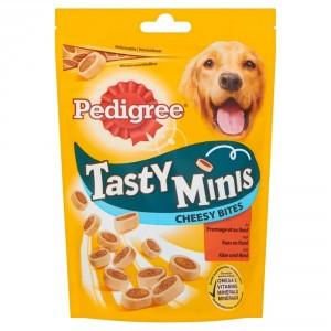 Pedigree Tasty Minis Cheesy Bites 140 gr