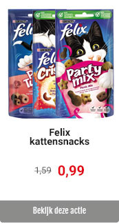 Felix snacks korting
