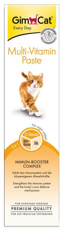 GimCat Multi-Vitamine pasta 200 gr