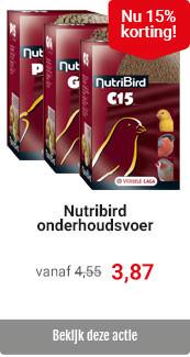 Nutribird met 15% korting