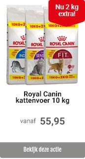 10 + 2 kg extra Royal Canin Kat Bonusbags