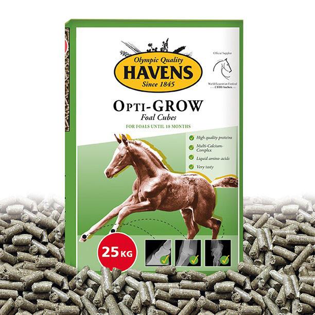 Havens Opti-GROW veulenkorrel 25 kg