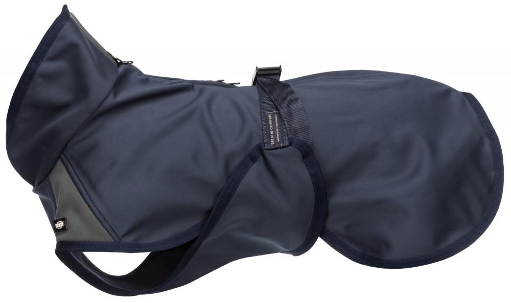 TRIXIE jas Aston softshell lichtblauw/grijs