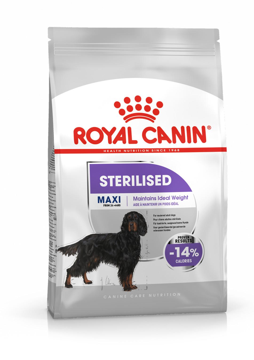 Royal Canin hondenvoer Sterilised Maxi 3 kg