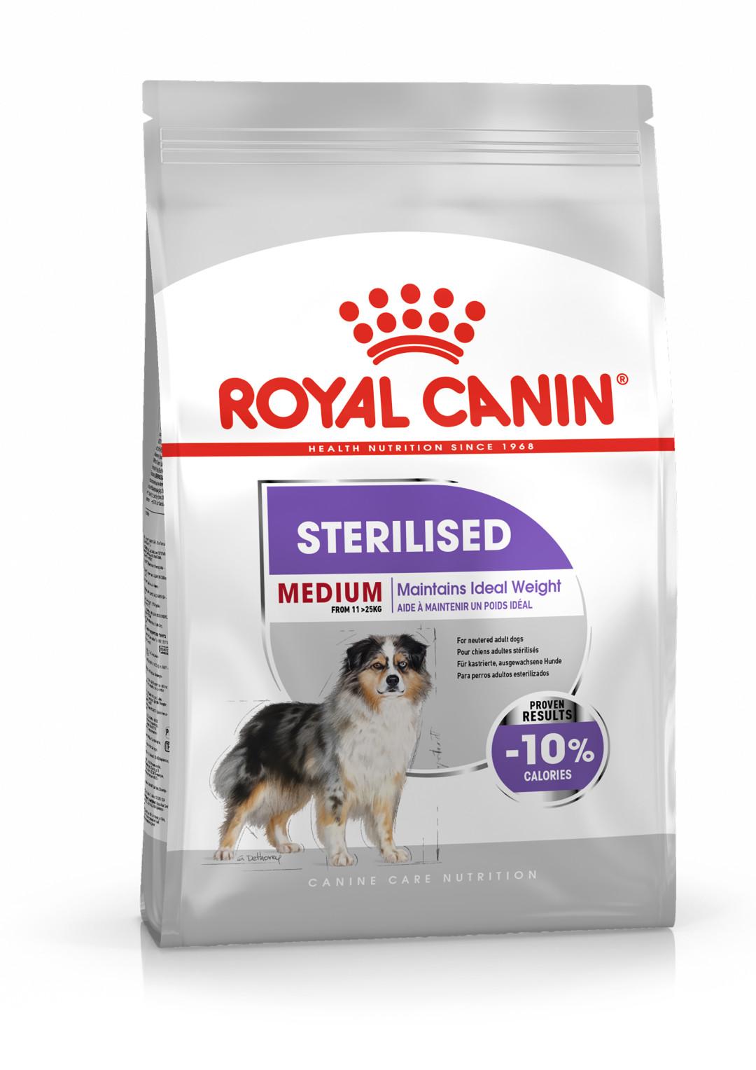 Royal Canin hondenvoer Sterilised Medium 3 kg