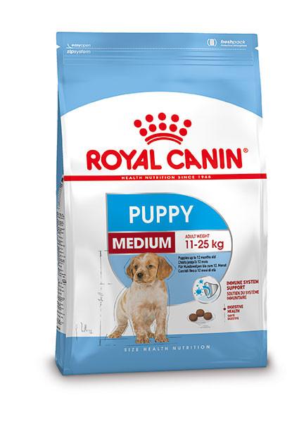 Royal Canin hondenvoer Medium Puppy 4 kg