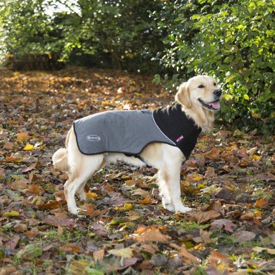 Scruffs Thermal Dog Coat Cajun Grey