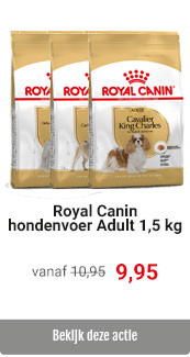 Royal Canin 1,5 kg Adult korting