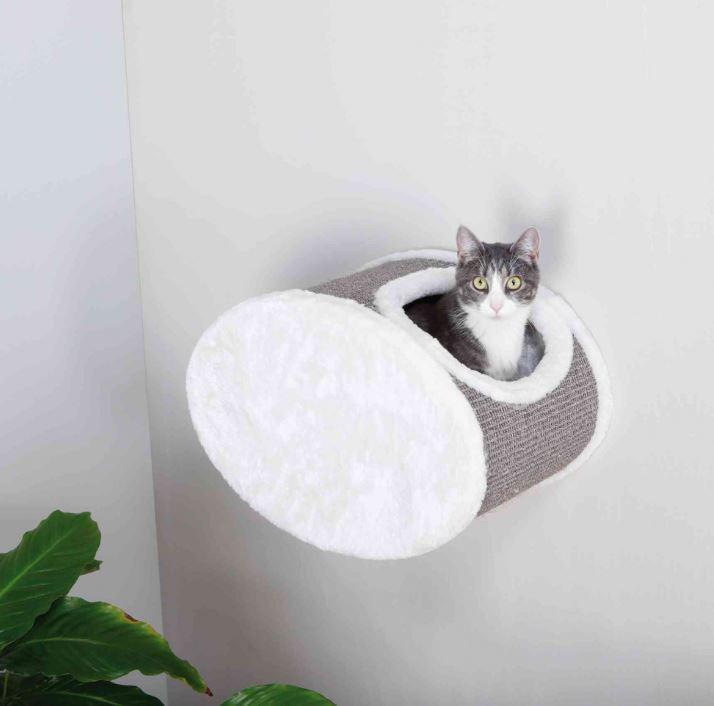 TRIXIE relax krabton voor aan de muur wit/grijs