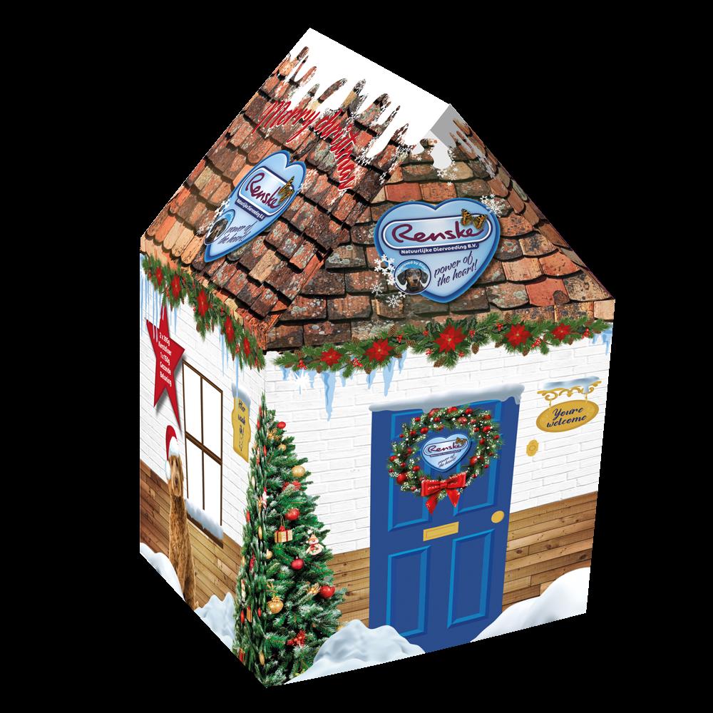 Renske kersthuis hond