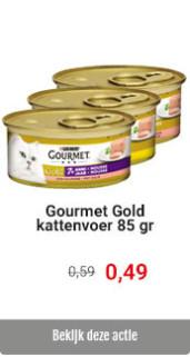 Gourmet Gold met korting