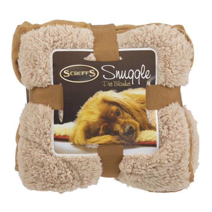 Scruffs Snuggle Blanket tan
