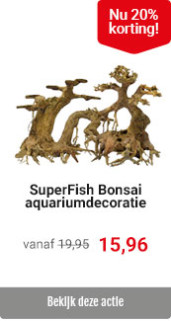 SuperFish Bonsai aquariumdecoratie 20% korting
