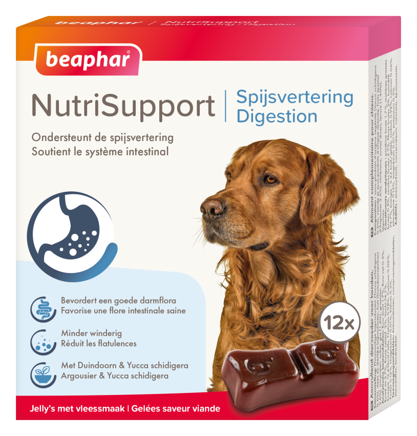 Beaphar NutriSupport Spijsvertering hond <br>12 st