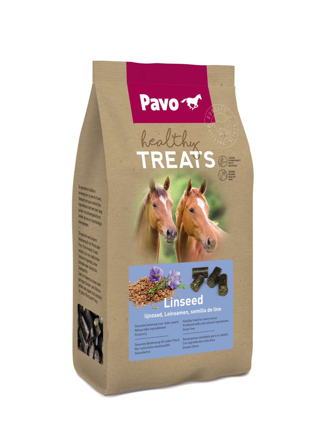 Pavo Healthy Treats Linseed 1 kg