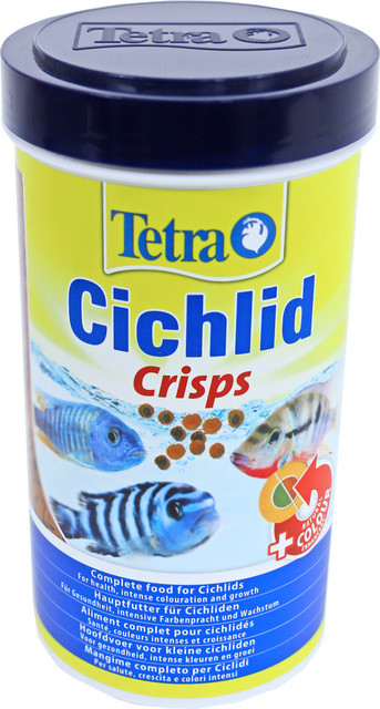 Tetra Cichlid Crisps 500 ml