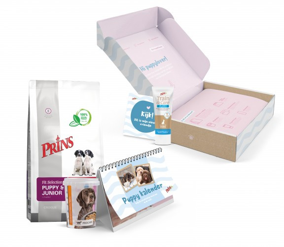 Prins opgroeibox Fit Selection Puppy & Junior