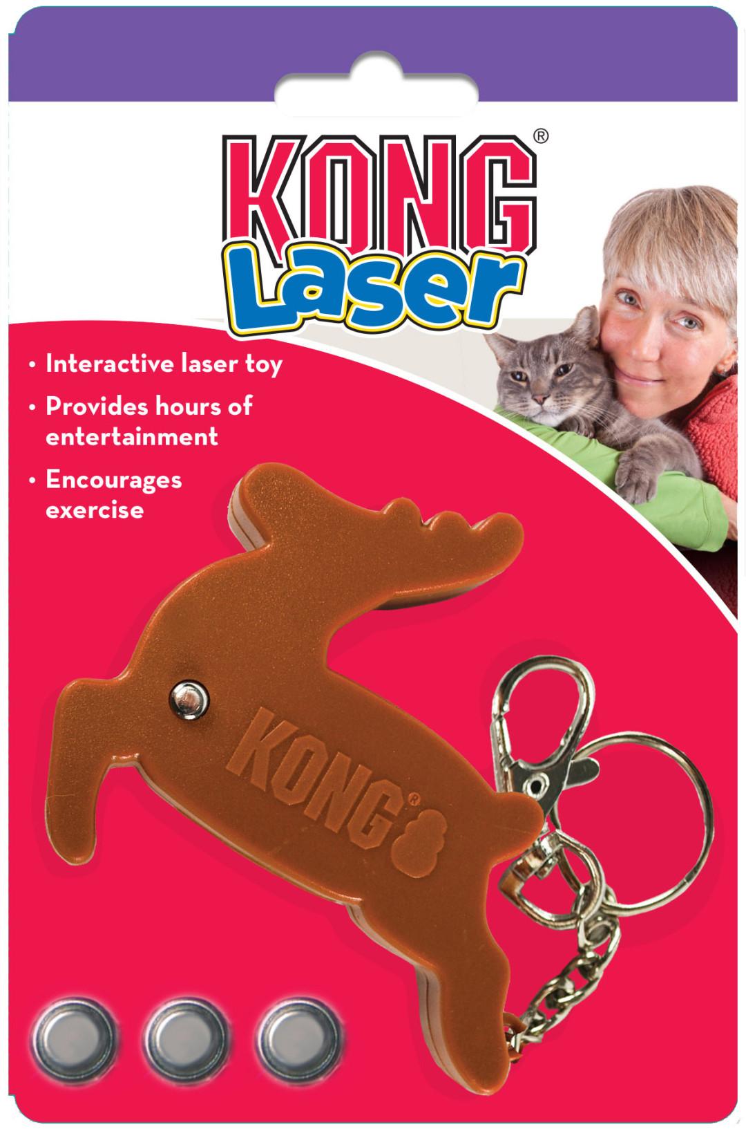 Kong Laser reindeer
