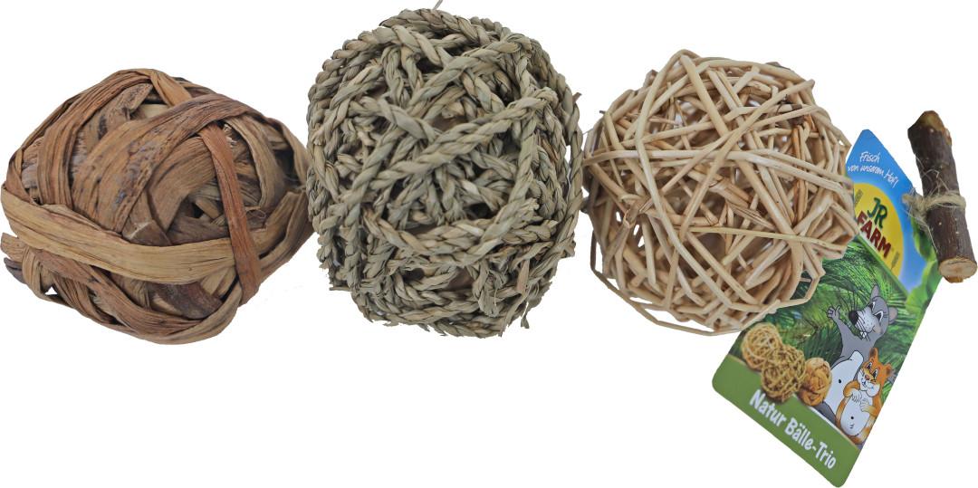 JR Farm natuurballen trio