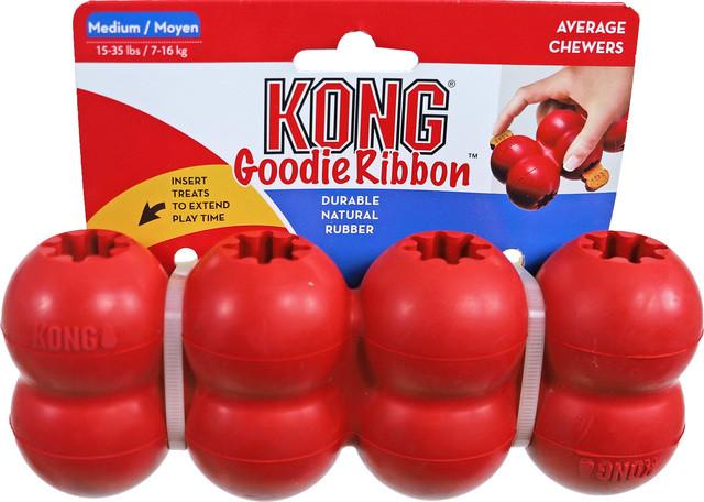 Kong Goodie Ribbon rood
